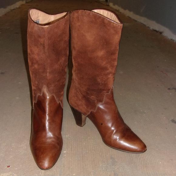Andrea Carrano Schuhes Schuhes Schuhes   Vintage Italian Chocolate Braun Sue   Poshmark 2709e5